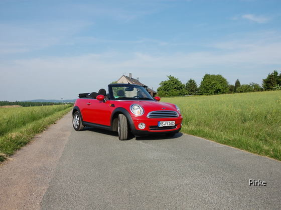 Mini Cabrio - DeTeFleet Darmstadt