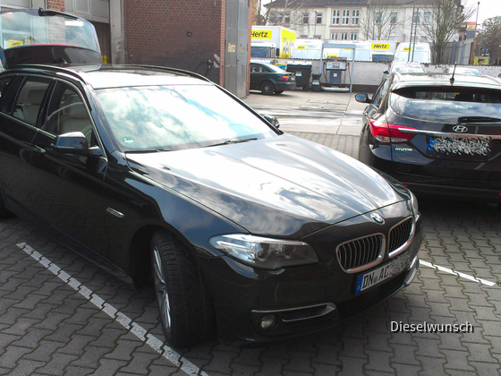 BMW 525 xDrive Touring