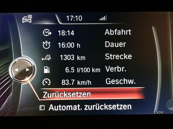 Verbrauch 520dA Touring