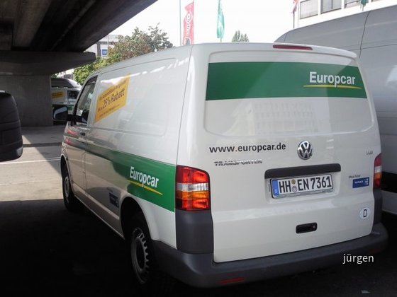 Europcar VW Transporter L1