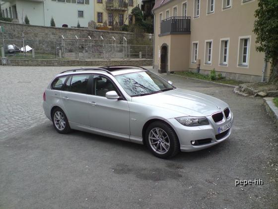 BMW 318d Touring Sixt Hamburg Altona
