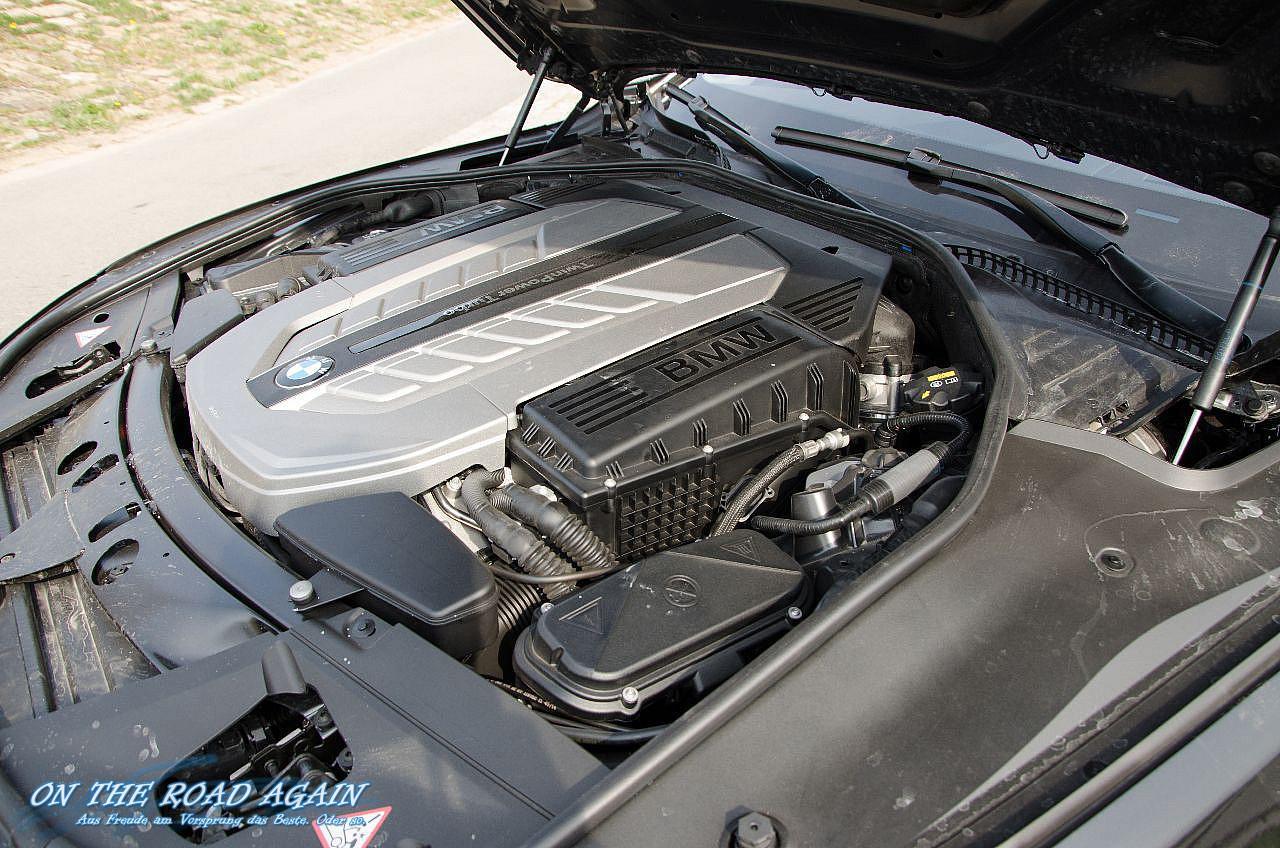Motorraum incl. Abdeckung BMW 760i