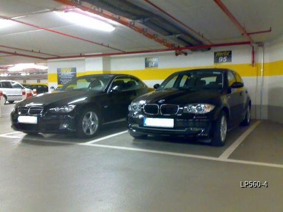 BMW 118d und 325i Cabrio Hertz