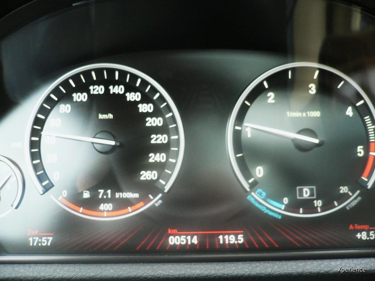 Verbrauch BMW 530d GT (Sixt), EZ 5/2010