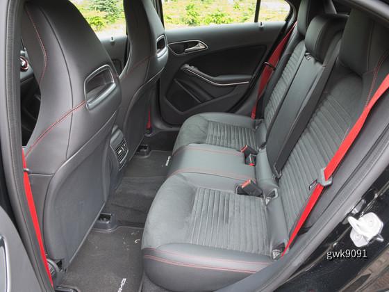 MB A 45 AMG von Europcar
