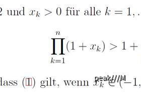 Mathe-Aufgabe