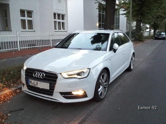 Audi A3 S-Line Sixt