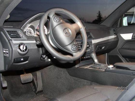 MB E 250 cdi Coupé von Sixt