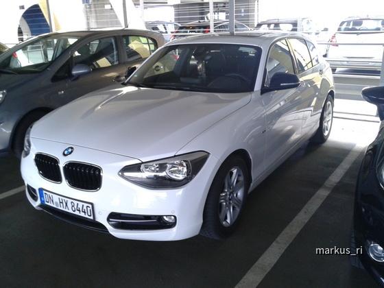 BMW 116d F20 @ Hertz LEJ 14.07.2012