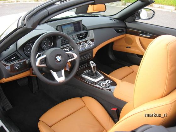 BMW Z4 20iA, Sixt 2013