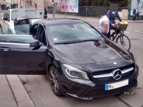 Mercedes CLA 200d Front