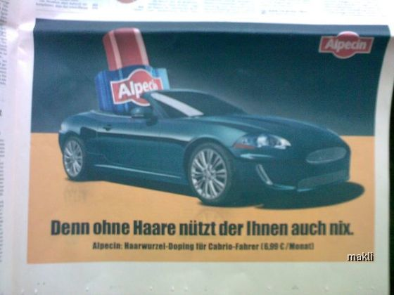 Werbung Alpecin