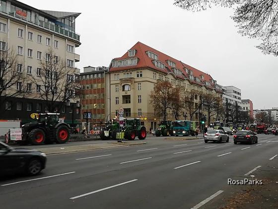 Bauern-Demo Berlin 26.11.19