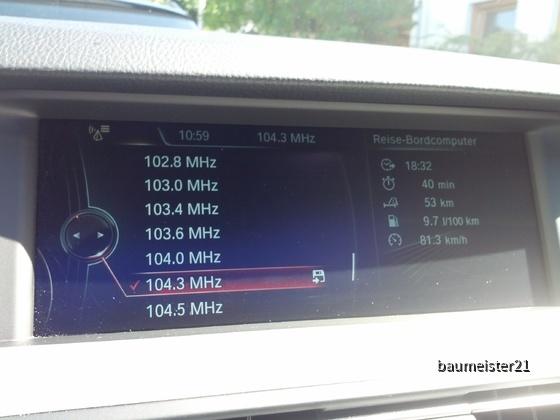 Radio-Senderliste