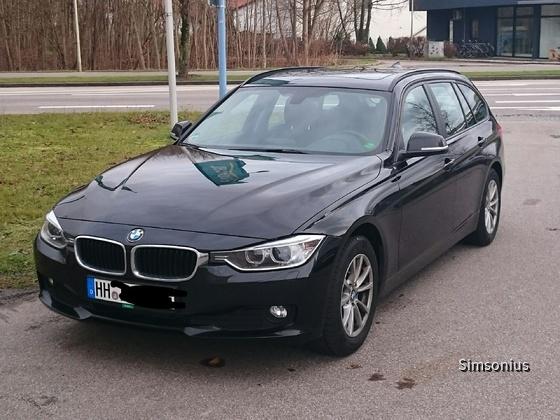 BMW 318d Europcar