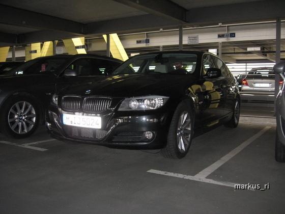 SIXT LEJ 11.06. - BMW 325d Automatik
