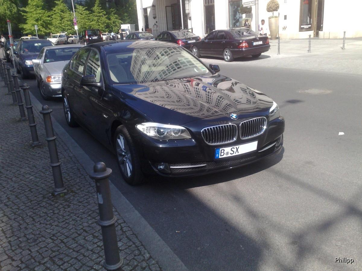 BMW 530d F10 Sixt