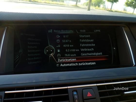BMW 520d Limousine | Sixt Detmold