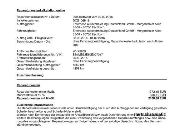 DXG106H18-Reparaturkostenkalkulation-1