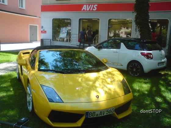 Lamborghini Gallardo Spyder von AVIS