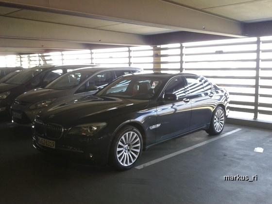 BMW 740d Individual @ SIXT LEJ 05.11.