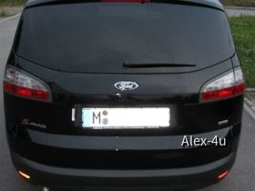 Ford S-Max backend