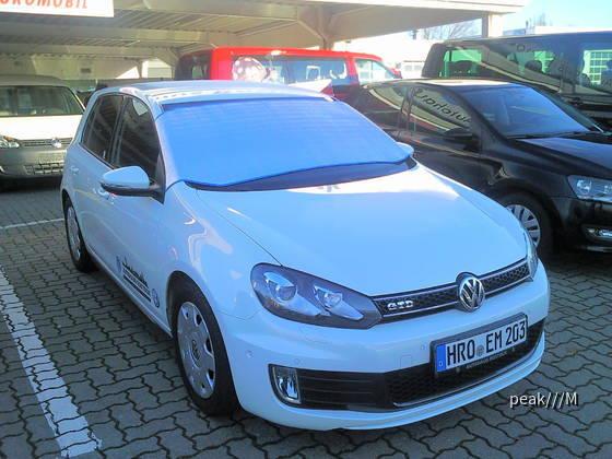 Golf GTD von Euromobil Rostock VW Rövershäger Chausee