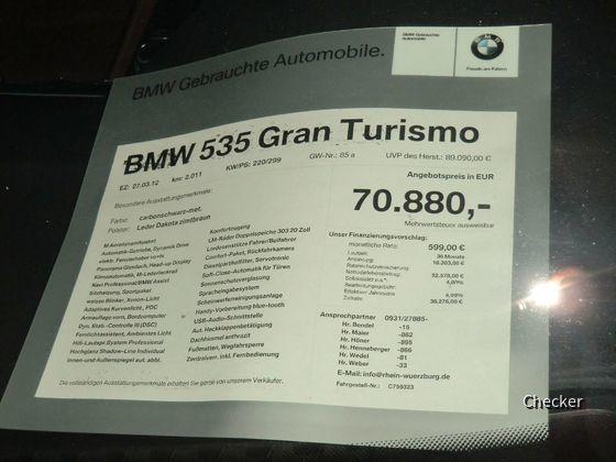 BMW 535d GT M-Paket