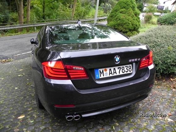 BMW 525d   Sixt BMW-Niederlassung Bonn