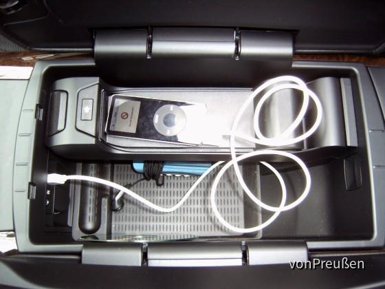 BMW X5 3.0d USB Anschluß