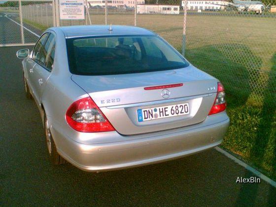 MB E220 CDI von Hertz