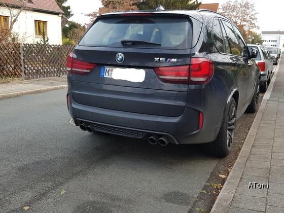 BMW X5M Heck