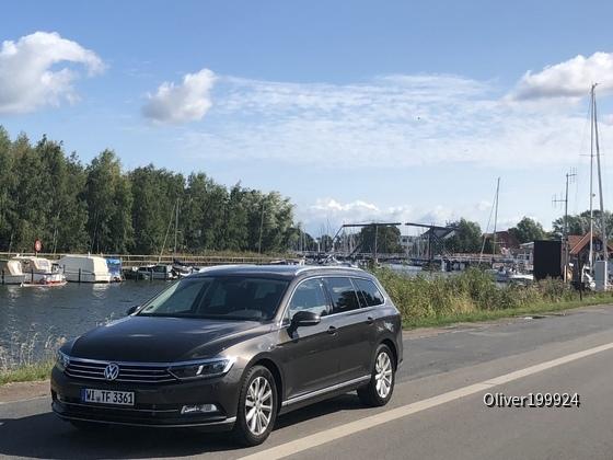 Passat In der schön Ostsee Stadt Greifswald