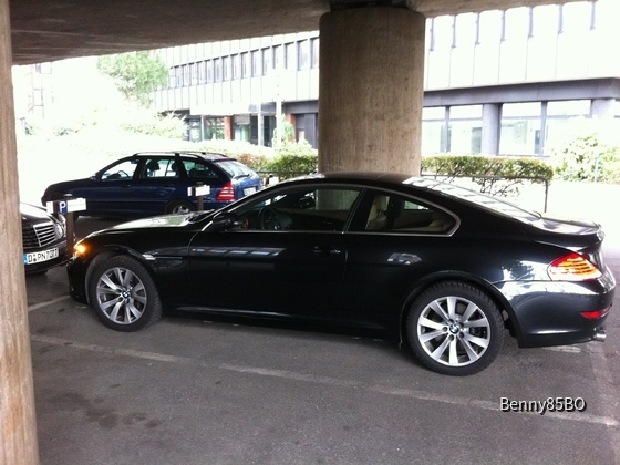 BMW 635d Coupe, Sixt