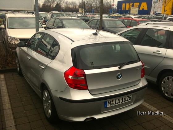 BMW 118D LIM DI MAN - M-IA 1626