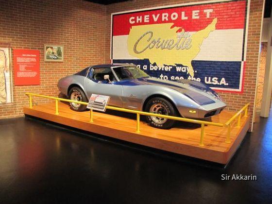 USA, Kentucky, Corvette Museum