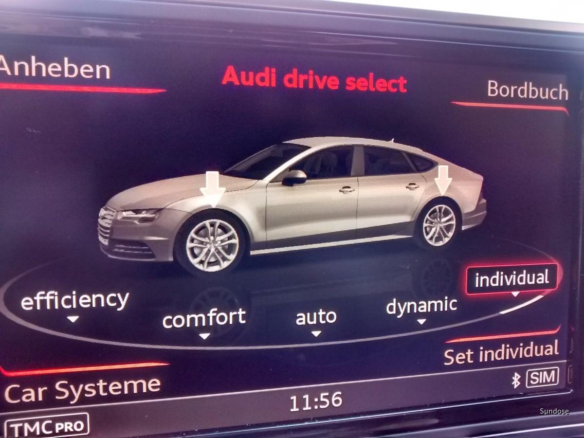 Audi A7 3.0 Quattro Competition