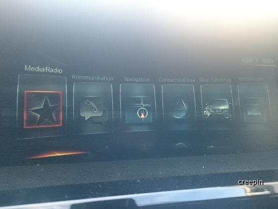 BMW X3 Neues Navi prof