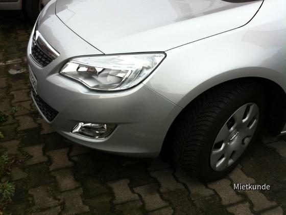 Opel Astra Sportstourer 1.4 Avis Worms 20.-23.01.2012