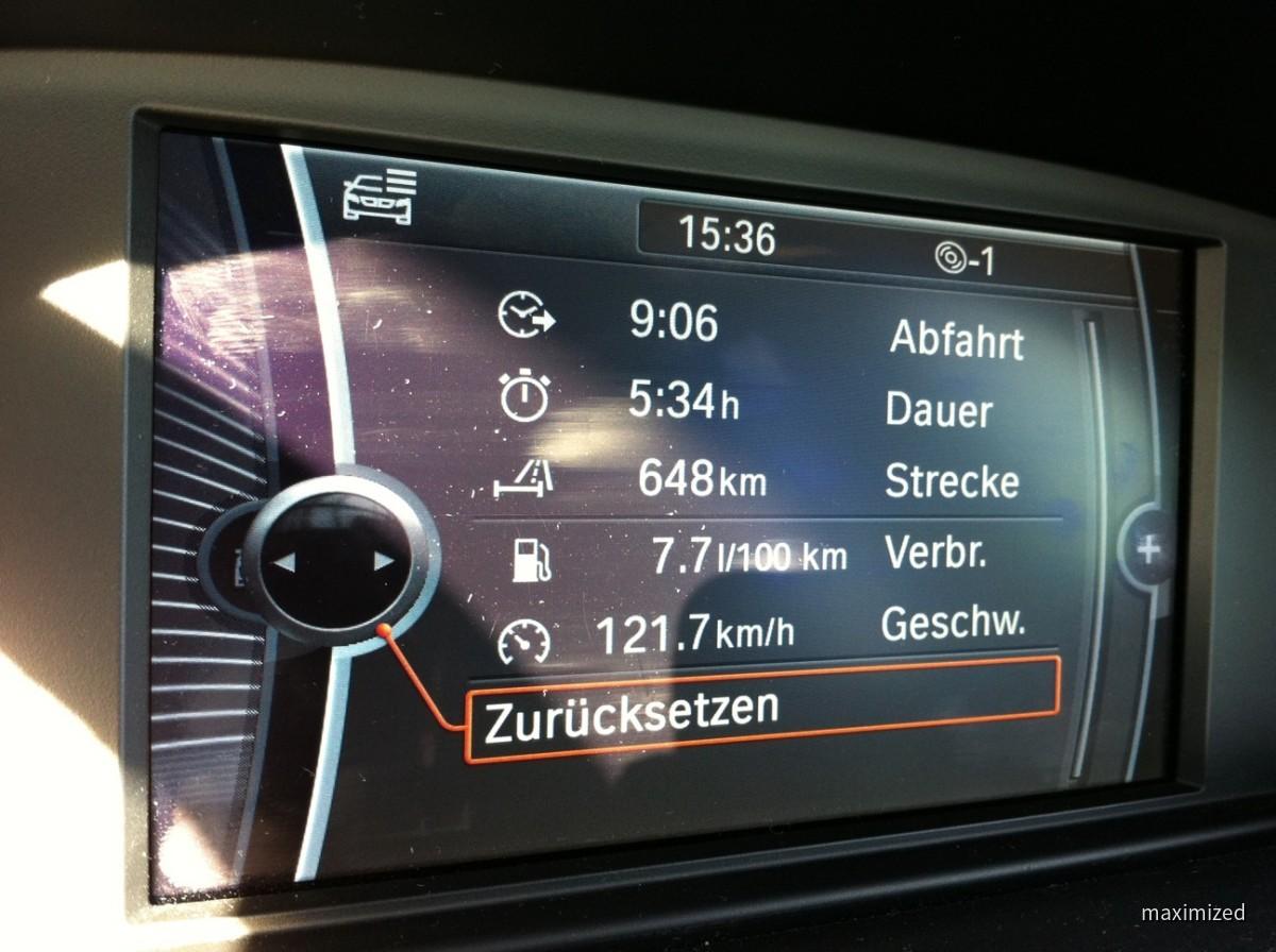 BMW 318d Verbrauch