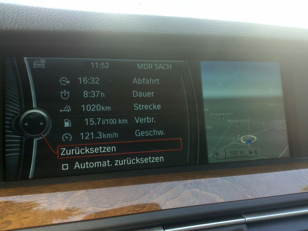 BMW 528i F10 von Sixt