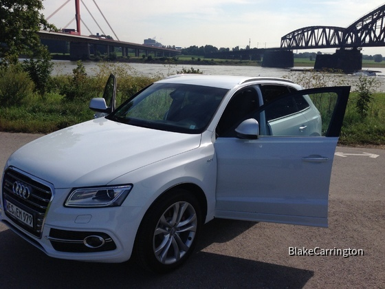Ab sofort bei der Euromobil Autovermietung Moers: Audi SQ5 3.0 TDI quattro 230(313) kW(PS) tiptronic