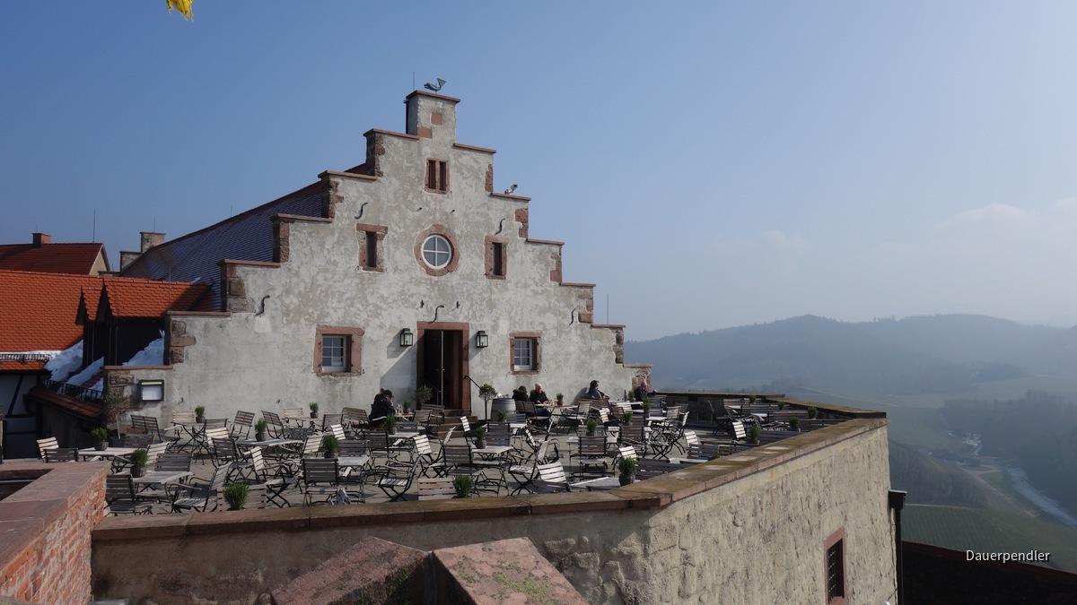 Terrasse Schloss Staufenberg