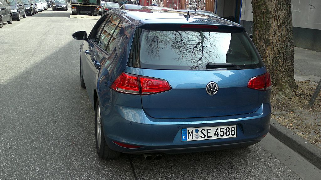 VW Golf VII 2.0 TDI DSG