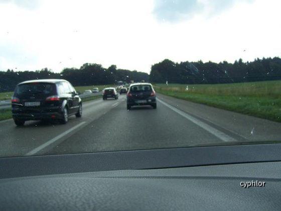 Àutobahn Aufnahmen A8 Salzburg-Karlsruhe
