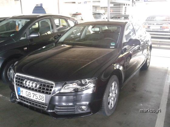Audi A4 @SIXT LEJ 18.02.