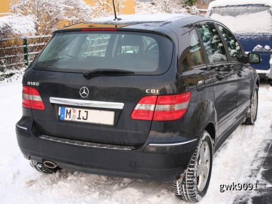 MB B 180 CDI von Sixt (Leverkusen) vom 17.12 bis 31.12.2010