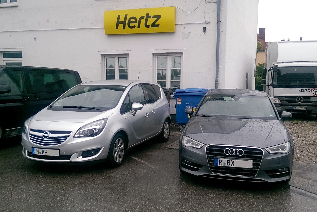 Hertz Opel Meriva