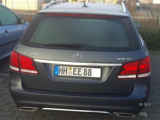 Mercedes E220 CDI Bluetec T-Modell Autmatik von Europcar