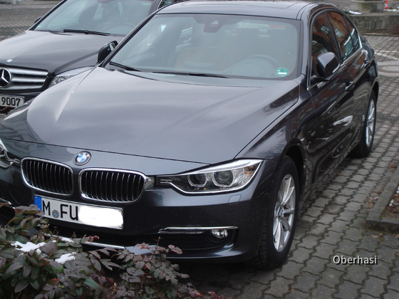 BMW 320dA Luxury Line Sixt 2013